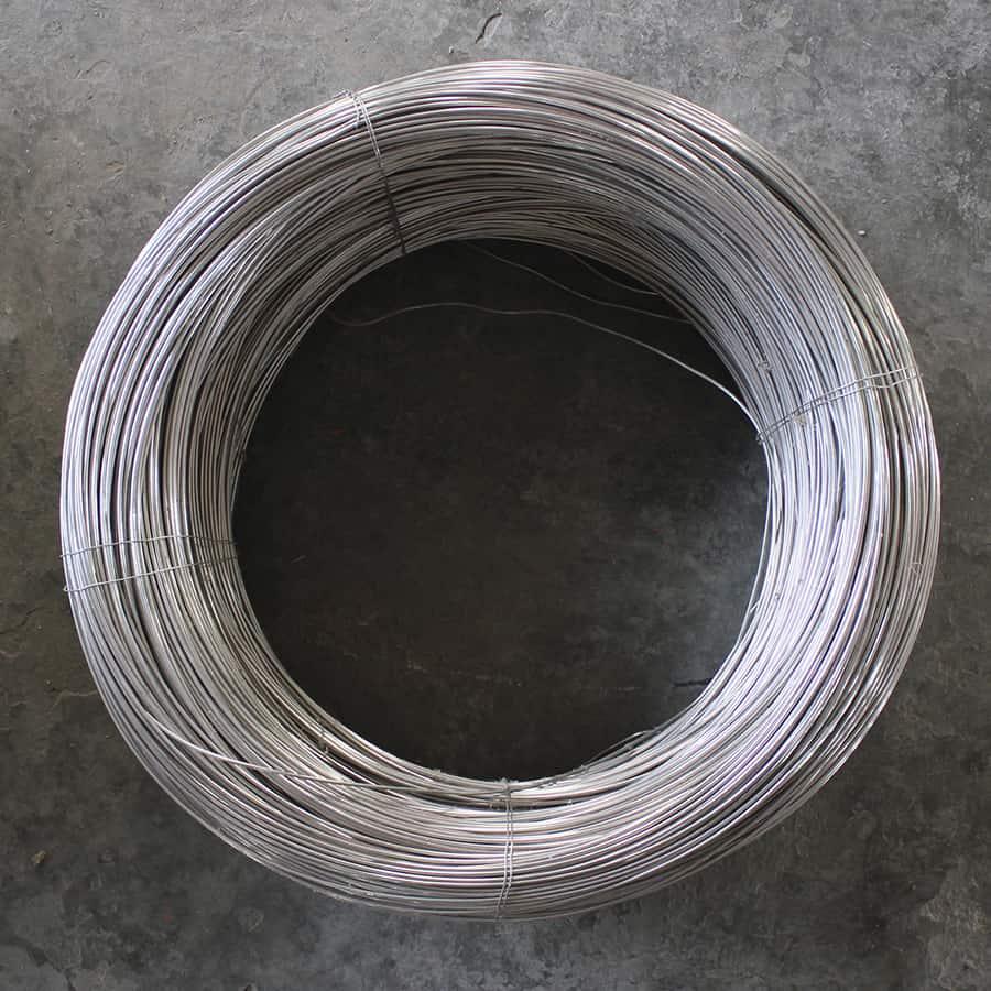 acero inoxidable para mallas de alambre