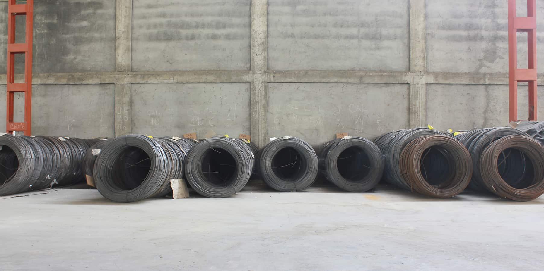 aceros para malla de alambre
