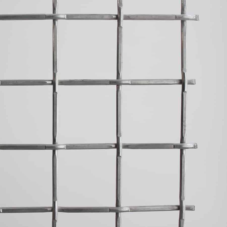 malla de alambre tejido lock crimp