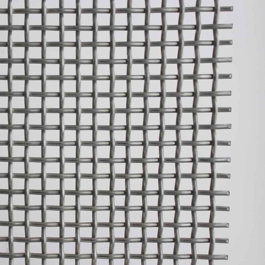 malla de alambre tejido sencillo